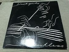 "BLACK GIRLS - SPEECHLESS 12"" MAXI USA TOM TOM 87 - INDIE ROCK"