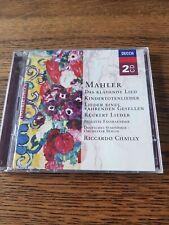 Mahler das klagende lied lieder fassbaender
