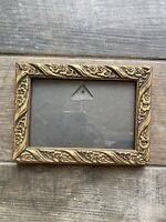 Gold Colour Gilt Style Picture Frame Flower Design Wallhanging
