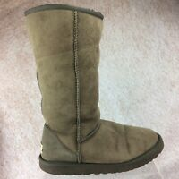 UGG Australia Women's Classic Tall Winter Boots Chocolate Size 7 #5815