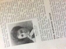 m5-1b ephemera 1912 small article baroness orczy