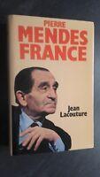 Pierre Mendes Francia Jeans Lacouture Soglia 1981 + Copertina Be