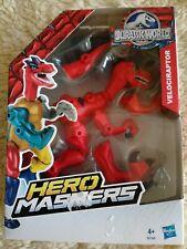Velociraptor JURASSIC WORLD Hero MASHERS Neu OVP