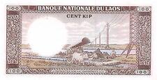 Laos  100 Kip  ND.  1974  P 16a  Uncirculated Banknote A424EL