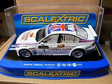"""Scalextric BMW 320si #1 """"wtcc"""" A. priaulx ref. c2714 NEUF"""