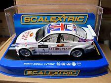 "Scalextric  BMW 320si  #1  "" WTCC ""  A. PRIAULX  Ref.  C2714 NEU"