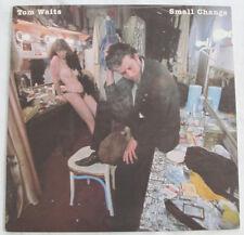 TOM WAITS -SMALL CHANGE- ORIGINAL 1976 ASYLUM WLP PROMO LP INSERT NM BEAUTIFUL!