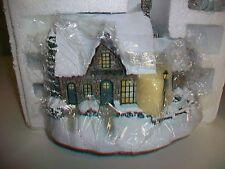 2002 Thomas Kinkade Hawthorne Village Village Clothier Figurine 79757