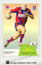 2003 Select NRL Scanlens Trading Card Retro #16:Ben Kennedy (Knights)