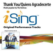 The Katinas - Thank You/Quiero Agradecerte - Accompaniment Track