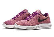 Nike lunarepic bajo Flyknit Para Mujer Zapatos Para Correr UK 7.5 EUR 42 RRP £ 130 Uva