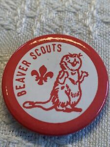Scout Badge. Beaver Scout Pin Badge.