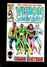 VISION 8 (5.0) SCARLET WITCH LUCK CAGE APP MARVEL (b010)