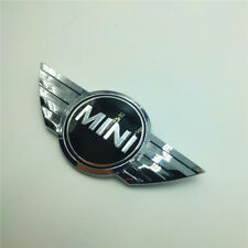 For MINI COOPER Chrome Front Hood Rear wing JCW Badge Emblem Logo R50 R52