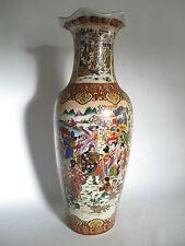 Chinesische Bodenvase China aus Porzellan 61 cm hoch Durchmesser etwa 22 cm