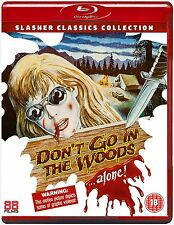 DON'T GO IN THE WOODS ALONE - Blu Ray Disc -
