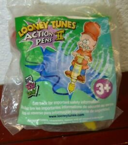 WENDY'S Kids Meal Toy LOONEY TUNES ACTION PENS II ELMER FUDD