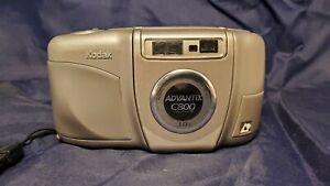 Kodak Advantix C800 3.0X Drop-in film Camera W/Aspheric 27-80mm lens. Works!