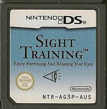 NINTENDO DS SIGHT TRAINING GAME CARTRIDGE ONLY