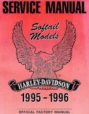 1995-1996 HARLEY-DAVIDSON SOFTAIL SERVICE MANUAL MANUAL-FLSTF-FXSTC-FXSTS-FXSTSB
