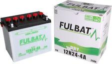 12N24-4A, DIN 52421, DRY Fulbat Batterie, Rasentraktor, Aufsitzmäher