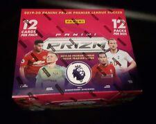 Panini Prizm EPL Fußball 2019/20 Hobby Box Display OVP / 12 Packs