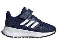 Adidas RUNFALCON I EG6153 Blu Scarpe da Ginnastica Running Bambino