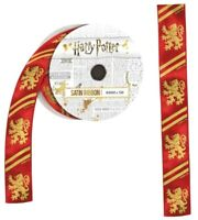 Harry Potter - Gryffindor Satin Ribbon (5 metres)-IKO1309