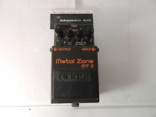 BOSS MT-2 METAL ZONE OVERDRIVE DISTORTION EFFECTS PEDAL HIGH GAIN FREE USA SHIP