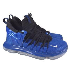 Nike Zoom KD 10 LE GS Foamposite Basketball Royal Blue AJ7220-500 Youth Sz 4.5Y
