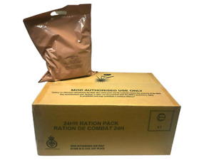 British UK 24 hour combat rations MRE Meal Ready to Eat - By the unit or Bundle