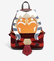 Loungefly Star Wars The Clone Wars Ahsoka Tano Backpack Bag IN HAND
