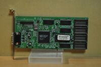 S3 VIRGE/DX Q5C4BB 86C375 9723 B4Y55 FVGAP-S34.2E 1MB PCI VIDEO CARD WORKS