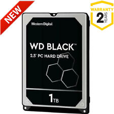 "NEW 1TB WD Black WD10SPSX 2.5"" 7200rpm SATA Laptop Hard Drive (OEM/Bare Drive)"