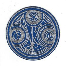 """Doctor Who TV Series Time Lords of Gallifrey Seal 4"""" Premium Embroidered Patch"""