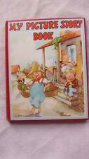 Old Book My Picture Story Book Edited by Watty Piper 1941GC
