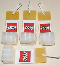 LEGO LOGO 4 SERIES MINIFIGURE PLASTIC DISPLAY HANGER PIECES USED TO HANG BAGS