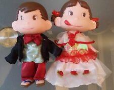 Japan Peko & Poko PVC Figure figurine doll set A 14cm