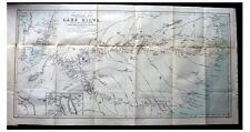 1884 O'Neil - MOZAMBIQUE TO LAKE SHIRWA - Lomwe - AMARAMBA - Africa - COLOR MAP