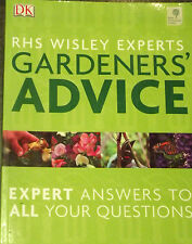 THE ROYAL HORTICULTURAL SOCIETY GARDENERS ADVICE ANSWERS TO QUESTIONS PAPERBACK