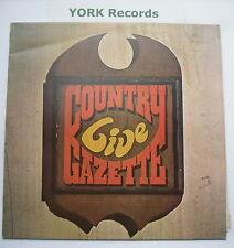 COUNTRY GAZETTE - Live - Excellent Condition LP Record Transatlantic TRA 291