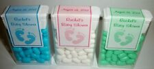 14 BABY SHOWER FAVORS TIC TAC LABELS ~ PERSONALIZED