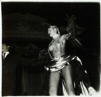 PARIS La Nouvelle Ève Danse Erotique ca 1950, Photo Stereo Cellulose L15n1