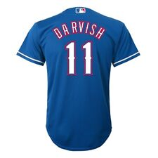 368319e3a Majestic Athletic Youth Texas Rangers Yu Darvish Replica Jersey Medium