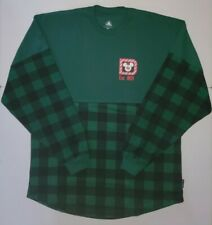 New 2020 Walt Disney Christmas Holiday Green Plaid Spirit Jersey Small S In Hand