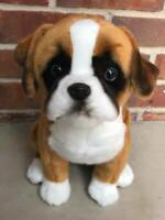 Auswella Plush Maxwell Our Plush Boxer Puppy Dog Plush Stuffed Animal