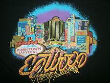 ELWOOD CLOTHING KENNY ANDERSON T SHIRT Skater Streetwear Brand Las Vegas Sign L