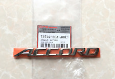 New ACCORD Emblem Logo ABS Badge Trunk Rear Nameplate Decal for Honda 2003-07