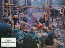 BARRIE INGHAM PETER BLYTHE A CHALLENGE FOR ROBIN HOOD 1967 7 LOBBY CARDS HAMMER