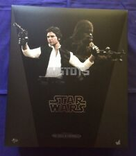 Hot Toys 1/6 Star Wars Episode IV 4 A New Hope Han Solo & Chewbacca MMS263 Japan